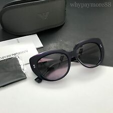 Emporio Armani Women's Cat-eye Sunglasses Lilac on Violet 55mm EA4032 NEW
