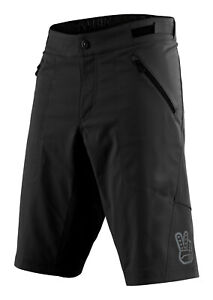 Troy Lee Designs Mens Skyline Shorts W/Liner - Black - MTB / Bicycle