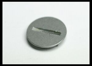 202510 NIKON F2 BATTERY COVER CHROME REPAIR PART USED FITS F2A F2S F2SB F2AS