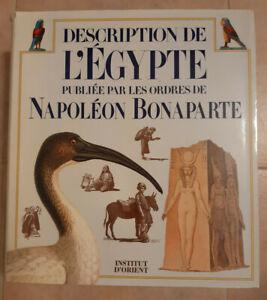 Description de l'Egypte Français 1988 EDIZIONE INTEGRALE EGITTO FARAONI NAPOLEON