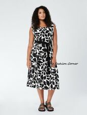🌟MARINA RINALDI  Dress 100%COTTON  PLUS size 29MR-20W USA_24GB_ 50D_ 58IT_ 54FR