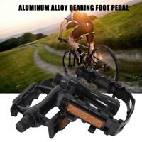 "1Pair MTB Bike Aluminium Alloy Mountain Bicycle Cycling G7L3 9/16"" Access Q3S6"