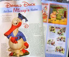 8p History Article - Early Antique Donald Duck Dolls - Cresba Lenci Disney