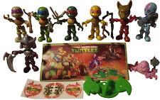 Kinder Surprise Teenage Ninja Turtles Set TMNT Boys Toys 9 BPZ 2016 Mexico Rare