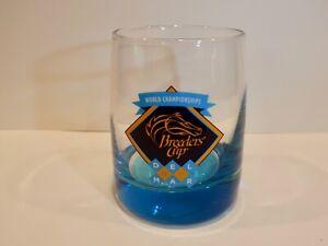 BREEDERS CUP DEL MAR 2017 AQUA BLUE HIGHBALL 8 OZ COCKTAIL GLASS