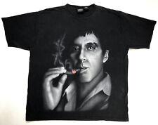 VINTAGE Scarface Clothing Co Smoking Cigar Movie T-shirt Men's 3XL Black Rap