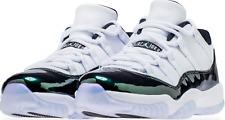 buy popular a0819 4c8f7 Nike Air Jordan 11 Retro Low Mens Size 15 White Black Emerald Rise 528895  145