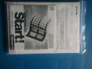 Microsoft Windows 98 Start, 2 CD zur Installation +Benutzerhandbuch,