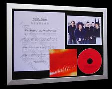THE CURE Just Like Heaven LTD NOD QUALITY CD FRAMED DISPLAY+EXPRESS GLOBAL SHIP!