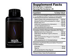 Purus Labs Recycle Testosterone Booster 100 Capsules  PCT FEE WORLDWIDE SHIPPING
