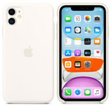 For Apple Iphone 11 White Silicone Case Official Covers Skins Mobile Accessories