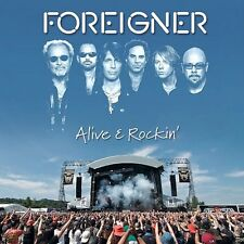 Foreigner ~ Alive & Rockin  New & Sealed CD ** HOT BLOODED,COLD AS ICE + MORE **