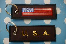 USA Amerika Schlüsselanhänger Anhänger Flagge Fahne