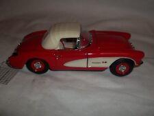 Franklin Mint 1958 Corvette Red 1/24 Mint & Boxed