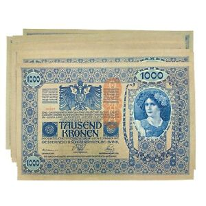 1000 Kroner 1902 ND(1919) Austria Hungary Oesterreichisch Lot 20 Banknotes # 59