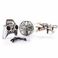 Air Hogs Star Wars Remote Control X-Wing Starfighter Vs Death Star Battle Drones