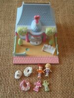 Vintage Bluebird Polly Pocket 1995 Dress Shop House C1