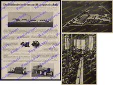 Süddeutsche Bremsen AG Traktor BMW München Milbertshofen Fabrik Luftbild 1927