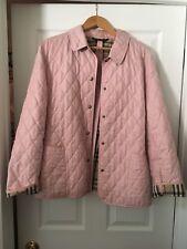 Pink Burberry Rainjacket Size 6