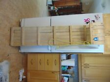 "vintage wooden snow toboggan slep  66 "" nice    chalet decor  # 5563"