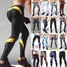 Men Running Compression Tight Base Layer Leggings Pants Gym Sport Long Trouser