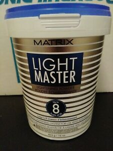 """Matrix Light Master 8 Lightening Powder 16 oz """"NEW"""""""
