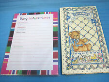 Baby Sitter's Notes Pad & Notebook