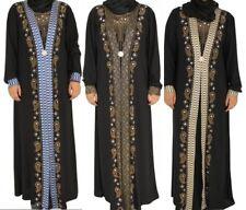 Muslim Ramadan Women Gown Islamic Maxi Kaftan Dubai Turkey Abaya Robe Arab Dress