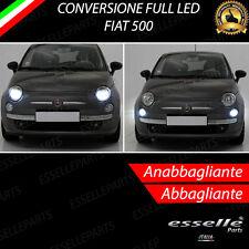 KIT FARI FULL LED FIAT 500 CINQUECENTO ANABBAGLIANTI H7 + ABBAGLIANTI H1 CANBUS