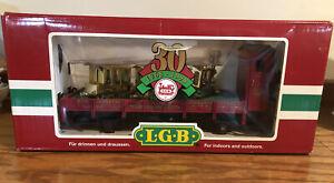 Lehmann Gross Bahn LGB 41124 1968-1998 30th Anniv Car W/ Gold Gnomy Train Cars