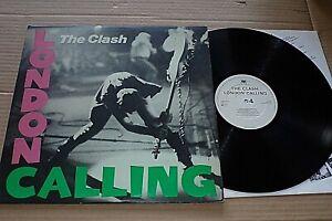 LONDON CALLING   -   THE CLASH   -   UK CBS RECORDS  -  DOUBLE LP  -    1979.