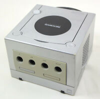 """Game Cube Nintendo Silver Console System Only Ref/DNH10080908 DOL-001 """"NTSC J"""""""