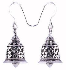 Silver Nice dangle th_sens Bell Earrings 925 Sterling