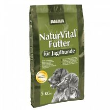 Akah Naturvital Dog Food 5kg Poultry Rice Corn Whole Wheat Herring Herbs Yes
