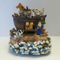 Animated Noah's Ark Classic Treasures Music Box What the World Needs Now is Love