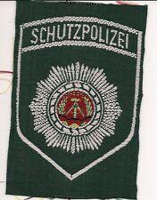 DDR: protección de policía VoPo (pueblo de policía verde (camisa) policía Patch insignia VoPo