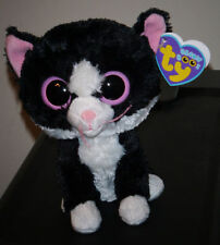 "Ty Beanie Boos ~ PEPPER the 6"" Cat ~ (2012 TAGS) ~ MWMT'S ~ RARE RETIRED"