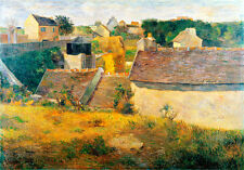 Houses at Vaugirard by Paul Gauguin 75cm x 52.5cm High Quality Art Print