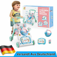 Kinder Laufwagen Lauflernhilfe Lauflernwagen Walker Baby Gehfrei Piano Spielzeug