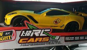 New Bright 1:12 Corvette ZR1 RC Full Function Radio Control Car, never opened