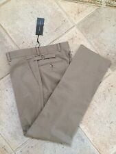 Ralph Lauren Black Label Collection Cotton Trousers Chinos Size 32/32 NEW