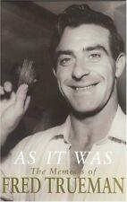 As it Was: The Memoirs of Fred Trueman, Fred Trueman, Very Good Book