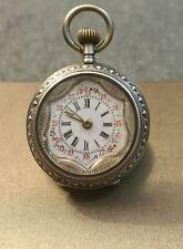 Watch Reloj Damen Cylindre Remontoir 10 Rubis Anfang des 20. Jahrhunderts.