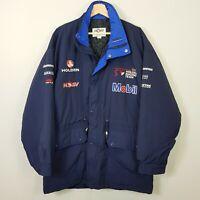 HOLDEN Racing Team Mens Size L Vintage 90's Mobil HSV Parka Jacket *Rare*