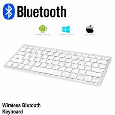 NEW Bluetooth Wireless Keyboard for iPad 2 3 4 Mac Computer PC Macbook Clavier