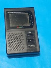 Casio TV 1410 Pal Television vintage fully working used condition