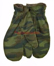 Winter Mittens three fingers Camouflage Russian gloves felt Army