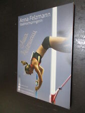 70402 Anna Felzmann Leichtathletik original signierte Autogrammkarte