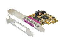 EXSYS EX-44010 - PCI-Express Controller 1x Parallel, inkl. Low Profile Bügel