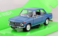 BMW 2002 ti blau 1:24 Welly  Modellauto 24053